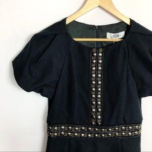 NWT Tibi | Rivet Embellished Cocktail Dress